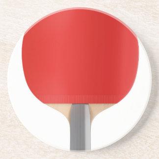 Porta-copos De Arenito Raquete de ténis de mesa