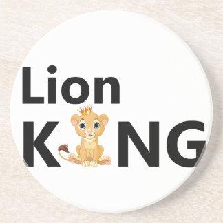 Porta-copos De Arenito rei do leão