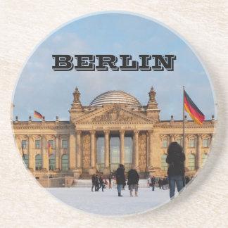 Porta-copos De Arenito Reichstag_001.02 nevado (Reichstag im Schnee)