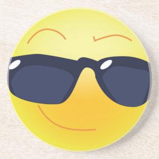 PORTA-COPOS DE ARENITO SMILEY FACE LEGAL