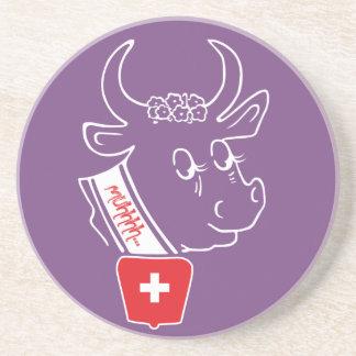 Porta-copos De Arenito Suíça Suisse Svizzera Svizra tampa de cerveja