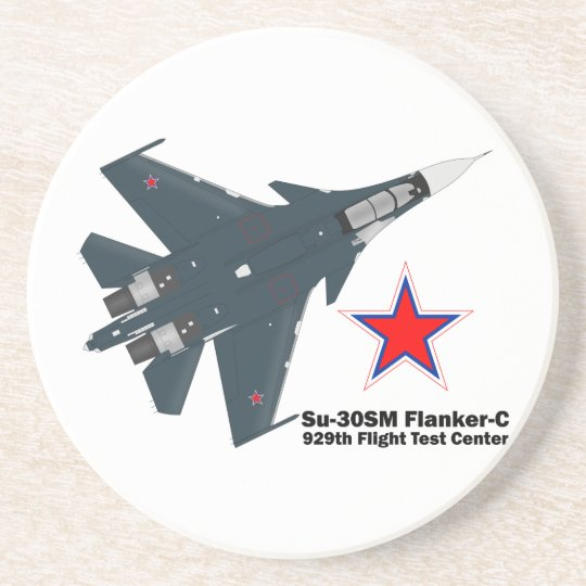 Porta-copos De Arenito Sukhoi Su-30SM Flanker-C VKS