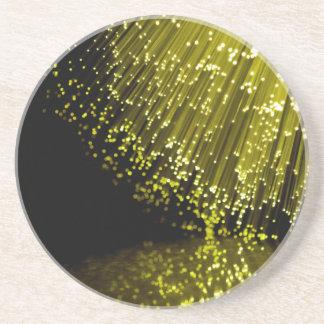 Porta-copos De Arenito Sumário da fibra óptica