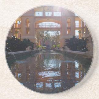 Porta-copos De Arenito Sunburst de Coronado