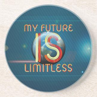 Porta-copos De Arenito SUPERIOR meu futuro é ilimitado