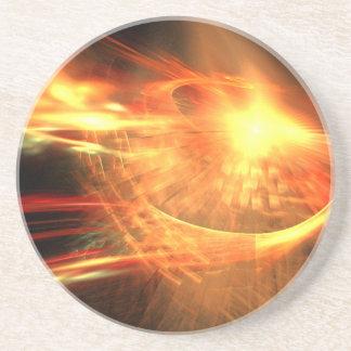 Porta-copos De Arenito Supernova