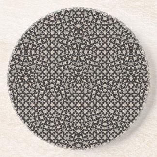 Porta-copos De Arenito Teste padrão oriental moderno