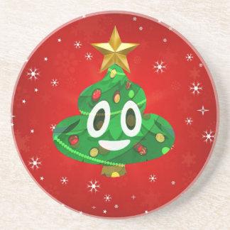 Porta-copos De Arenito tombadilho do emoji de chris