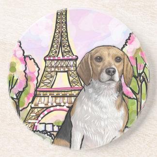 Porta-copos De Arenito torre Eiffel Paris do lebreiro