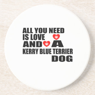 Porta-copos De Arenito Tudo você precisa o design dos cães de TERRIER de
