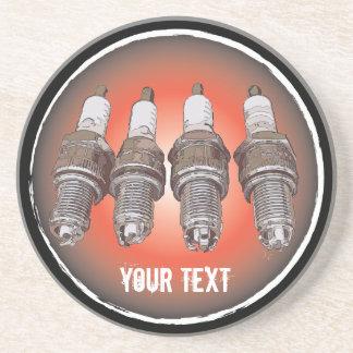 Porta-copos De Arenito Velas de ignição do motor
