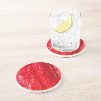 Porta-copos De Arenito vermelho do vagem do cacau