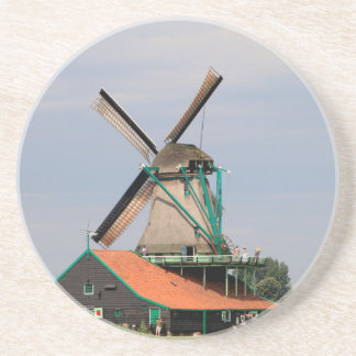 Porta-copos De Arenito Vila holandesa do moinho de vento, Holland 3