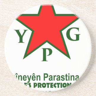 Porta-copos De Arenito ypg-ypj - kobani do apoio - claro