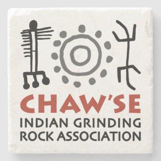 Porta copos de mármore de Chaw'se Porta Copos De Pedras