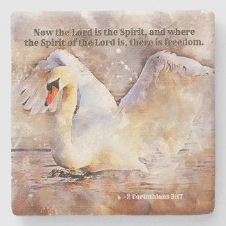 Porta Copos De Pedra 2 3:17 dos Corinthians… há um verso da bíblia da
