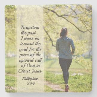 Porta Copos De Pedra 3:13 dos Philippians - 14 que esquecem o passado