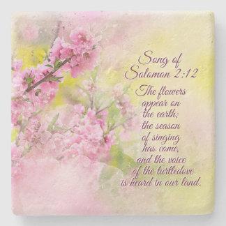 Porta Copos De Pedra A canção de flores do 2:12 de Solomon aparece na