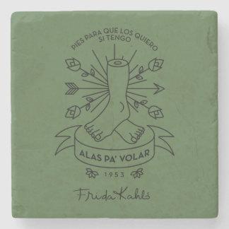 Porta Copos De Pedra Asas de Frida Kahlo | a voar