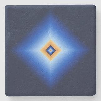 Porta Copos De Pedra Azul e diamante de Tan