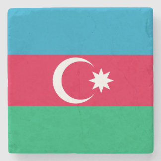 Porta Copos De Pedra Bandeira patriótica de Azerbaijan