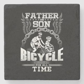 Porta Copos De Pedra Bicicleta do filho do pai