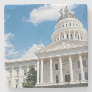 Porta Copos De Pedra Capitólio do estado de Sacramento de Califórnia