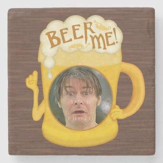 Porta Copos De Pedra Cerveja engraçada mim foto personalizada   do