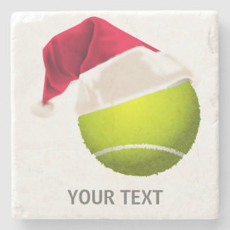 Porta Copos De Pedra Chapéu do papai noel da bola de tênis do Natal