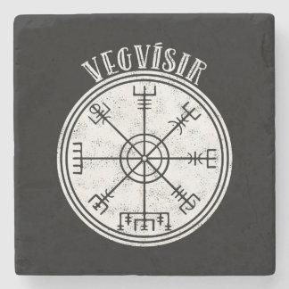 Porta Copos De Pedra Compasso do islandês de VEGVISIR