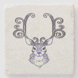 Porta Copos De Pedra Da rena azul do nariz de Bluenoser porta copos