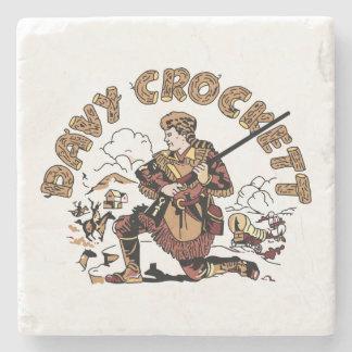 Porta Copos De Pedra Davy retro Crockett