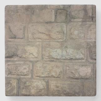 Porta copos de pedra de mármore do tijolo