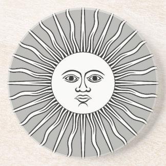 Porta copos de pedra de Sun