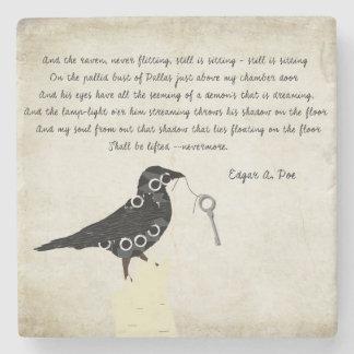 Porta copos de pedra do ponto de entrada de Edgar