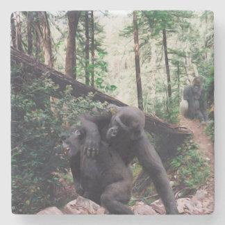 Porta copos de pedra dos gorila