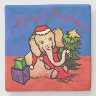 Porta Copos De Pedra Elefante encantador dos desenhos animados do papai