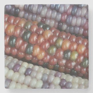 Porta Copos De Pedra Espiga de milho de vidro colorida da gema
