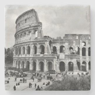 Porta Copos De Pedra Esteira de mesa de pedra da porta copos de Roma