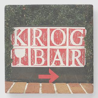 Porta Copos De Pedra Kirkwood, bar de Krog, Coaster. de mármore de