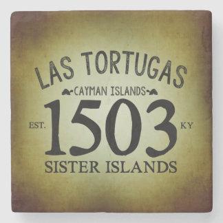 Porta Copos De Pedra Las Tortugas EST. 1503 rústico