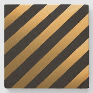 Porta Copos De Pedra Listras da diagonal do ouro