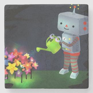 Porta Copos De Pedra O jardim do robô