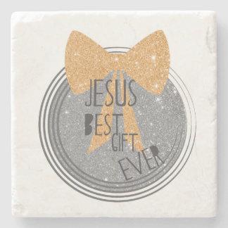 Porta Copos De Pedra O melhor presente de Jesus nunca