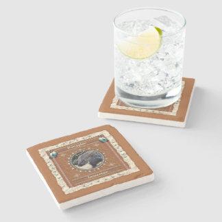 Porta Copos De Pedra Porco- - porta copos de mármore da inocência