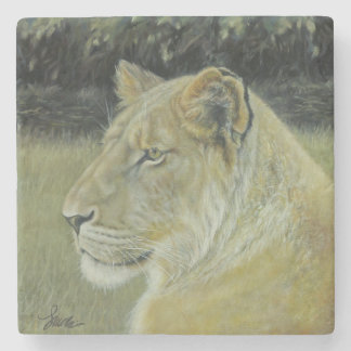 """Porta Copos De Pedra """"Porta copos da pedra da rainha do leão"""""""