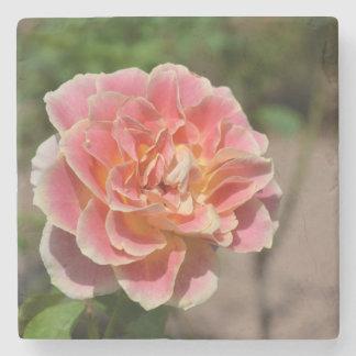 Porta Copos De Pedra Porta copos do jardim de rosas