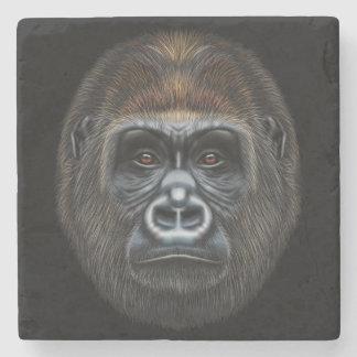 Porta Copos De Pedra Retrato ilustrado do homem do gorila