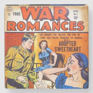 Porta Copos De Pedra Romances verdadeiros #7 da guerra