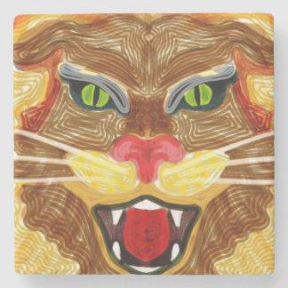 Porta Copos De Pedra Rugido do leão